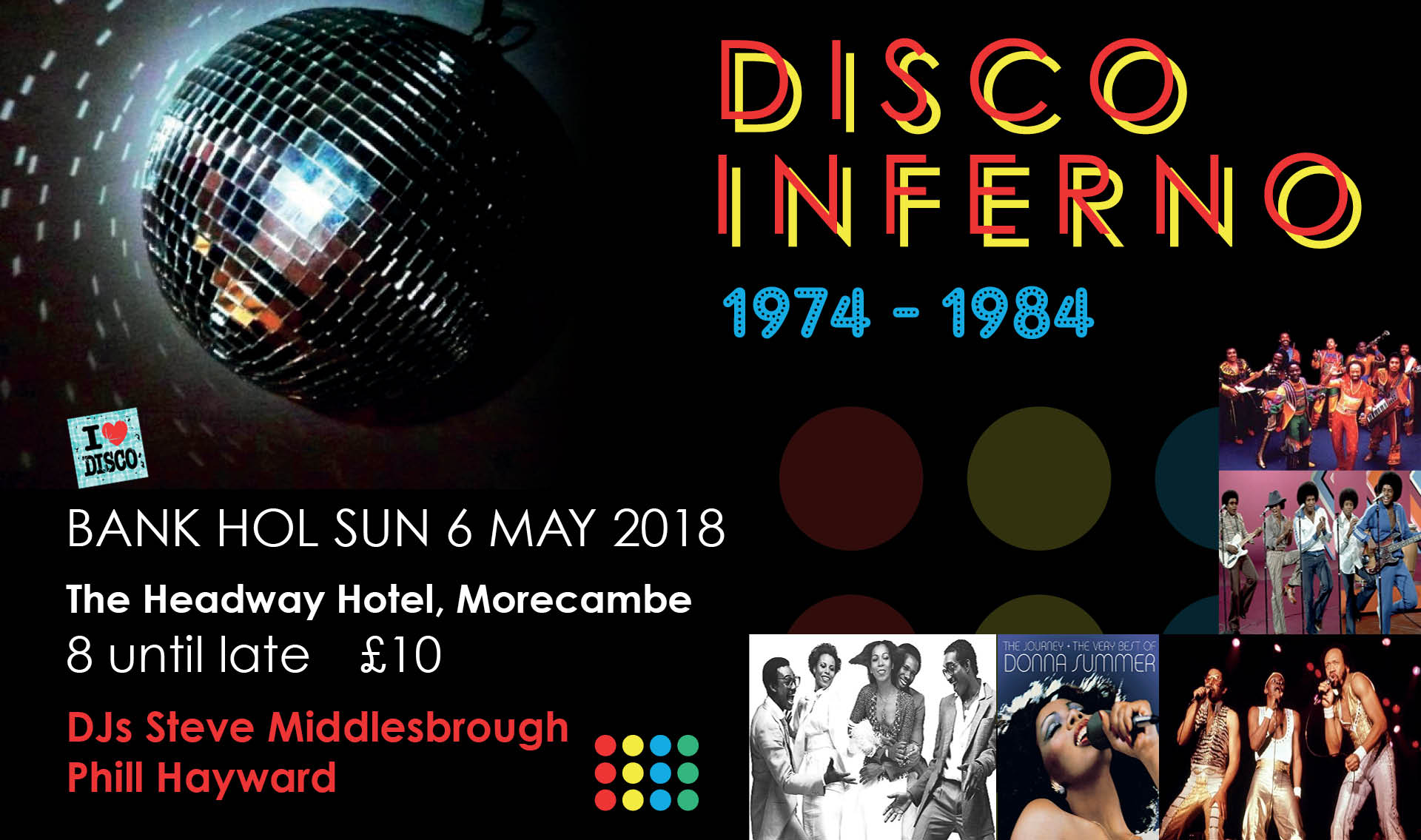 Morecambe Live 2018 Disco Inferno